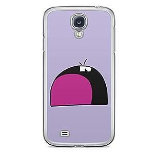 Smiley Samsung Galaxy S4 Transparent Edge Case - Design 10