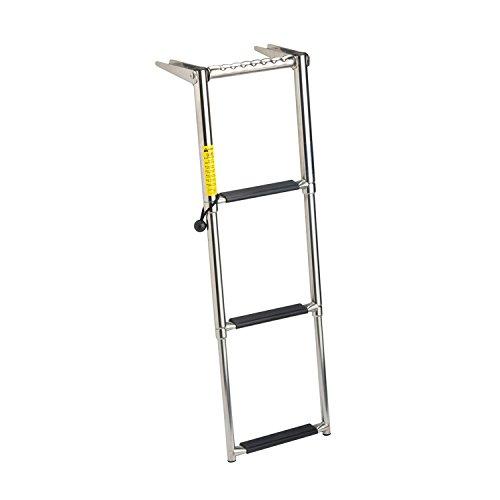 Garelick/Eez-In 19676:01 Over Platform Telescoping Ladder - 3 Step