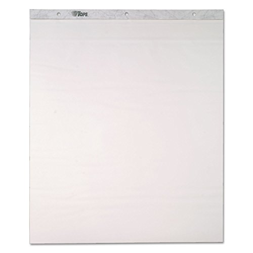 TOP79194 Tops Easel Pad, Self-Stick, 30 Sheets, Plain, 25x30, 4/CT by Unknown
