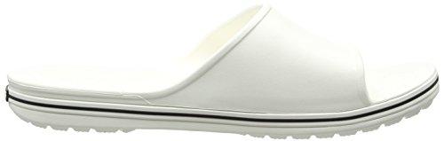 white black Blanco Crocs Ii Unisex Crocband U Adulto Chanclas Slide 080za6xw