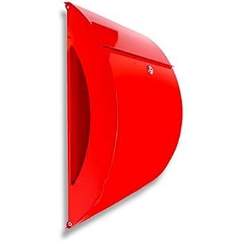 NACH Dexter Red Mailbox with Keys