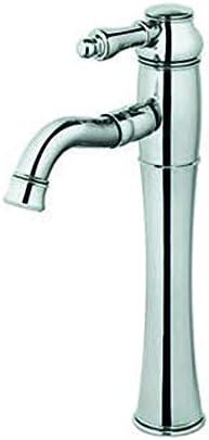 家庭用浴室の蛇口 浴室温水と冷水の蛇口の耐久性に優れたステンレス鋼の蛇口 浴室の台所の蛇口 (Color : Silver)