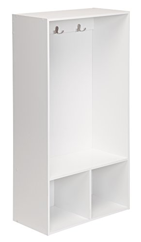 White Locker Room - ClosetMaid 1598 KidSpace Open Storage Locker, 47-Inch Height, White