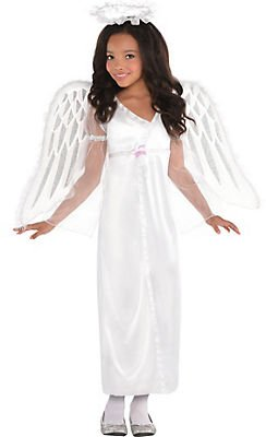 Heavenly Sent Angel Costume (Girls Heavenly Angel Costume ( Small ))