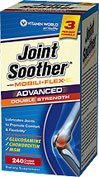 Vitamin World Advanced Double Strength Joint Soother, 240 Coated Caplets