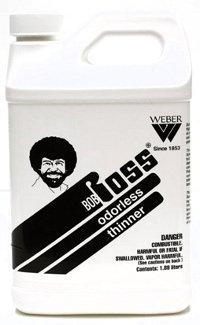Martin & F. Weber Bob Ross Odorless Thinner, 1 Quart - FLAMMABLE