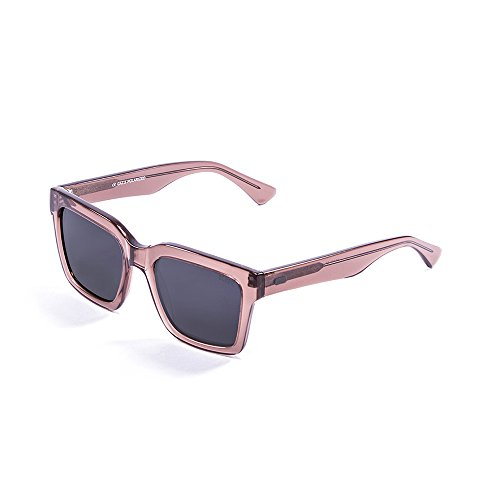 Ocean Sunglasses Jaws Lunettes de Soleil Mixte Adulte, Dark Brown Transparent/Brown Lens