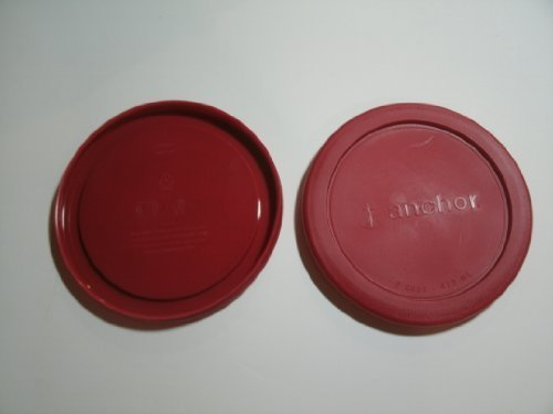 Anchor Hocking Replacement lid for 4 cup Round, set of 2