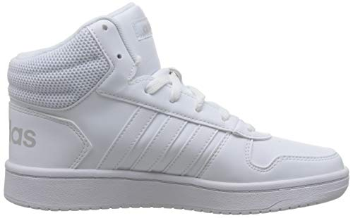 Fitness ftwbla Adidas 2 Chaussures Femme Hoops De 000 Mid 0 Blanc zPYwx6CPq