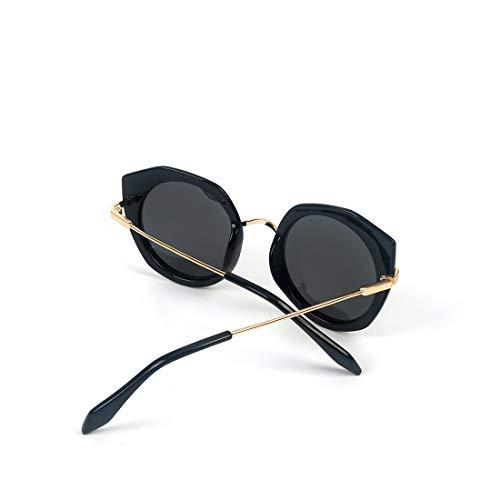 Mode Enduites Soleil De Frame Femme Black Lunettes Frame Polarisées De De Lunettes Lens Soleil Black Colorées Couleur Soleil LBY Black Black Lens Lunettes de qwzYIE