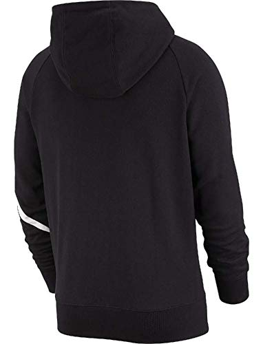Hoodie Nike black Nsw shirt M Homme Stmt Hbr white Sweat Ft black Black Fz frfawnTqOW