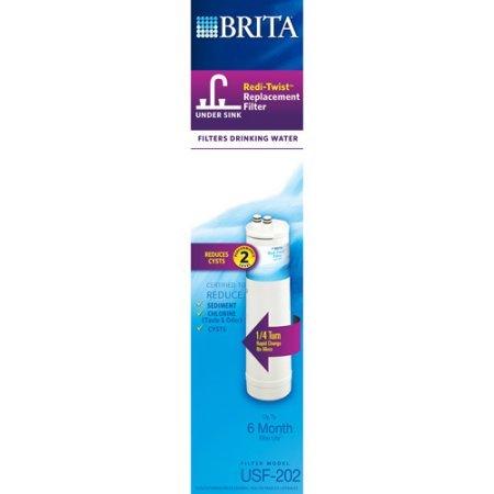 Brita Redi-Twist Under-Sink Replacement Filter, Level 2