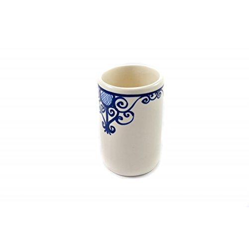 OCarrefour de la Deco Vaso de cerámica, diseño hierro forjado ...