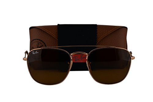 Ray-Ban RB3557 Sunglasses Gold w/Brown Lens 00133 RB - Ray Reading Bifocal Sunglasses Ban 2132