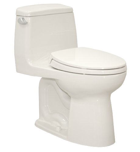 TOTO MS854114SL#11 Ultramax ADA One Piece Toilet, Colonial White - Max One Piece