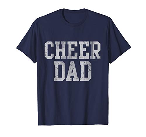 Mens Cheer Dad Cheer leading t-shirt Cheer leading