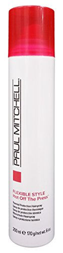 Paul Mitchell Hot Off The Press Thermal Protection Hairspray 6 oz. (Formula Protection Thermal)