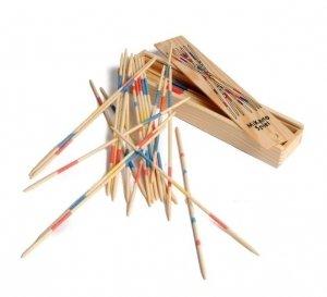 Set 10Größen Mikado Holz Spielzeug Lernspiel