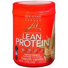 Six Star Fit Lean Prot Va Size 18z Six Star Fit Lean Protein Vanilla 18z