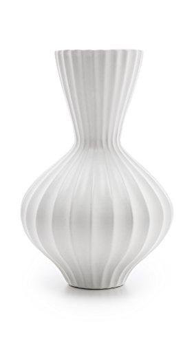 white bulb vase - 8