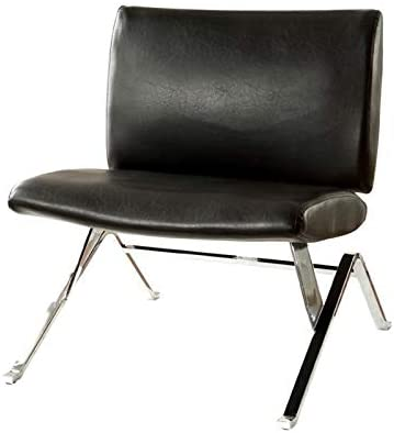 Furniture of America Leon Contemporary Wood Accent Chair