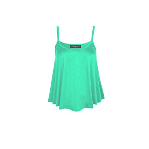 anar kali - Camiseta sin mangas - para mujer verde menta