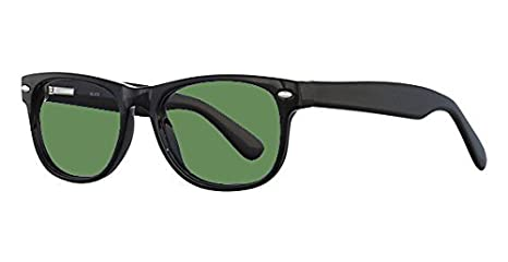 391373f545c Image Unavailable. Image not available for. Color  BoroView Shade  3 - Glass  Working Spectacles in Genius Unisex Plastic Frame ...
