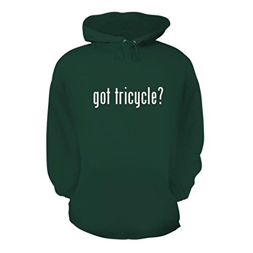 got tricycle? - A Nice Men's Hoodie Hooded Sweatshirt, Forest, Large