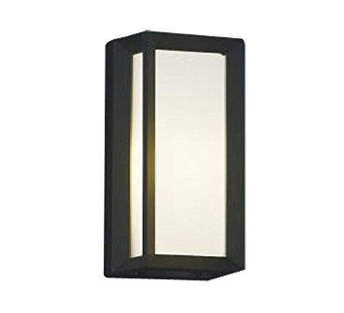 コイズミ照明 自動点滅器付ポーチ灯 壁付門柱取付  黒色 AU40410L B00KVWJDD2 10684