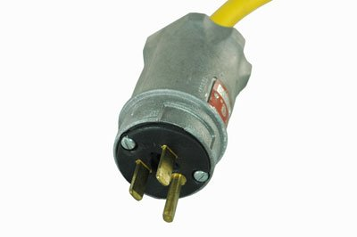 Larson Electronics Explosion Proof Fixture/Extension Cord Plug - 15 Amp Rated C1D1,2 C2D1,2