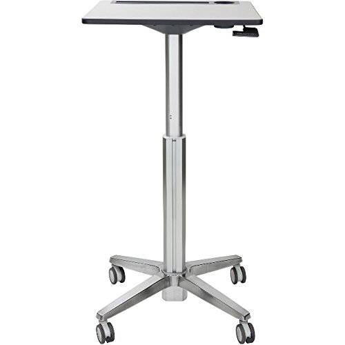Includes Adjustable-Height Base, Worksurface With Intergated
