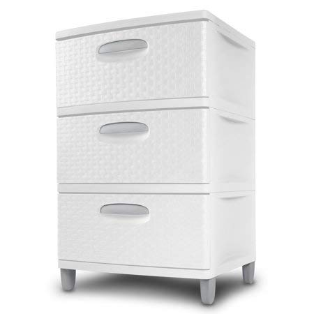 STERILITE Medium 3 Drawer Unit