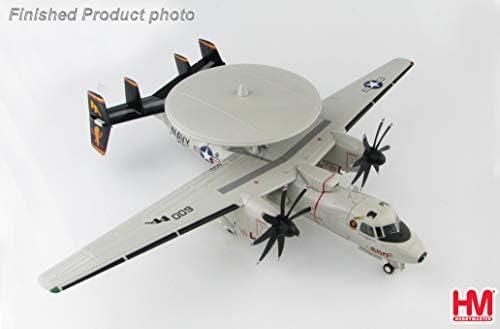 Hobby Master 1/72 完成品 アメリカ Northrop Grumman E-2C Hawkeye 163536 VAW-125 Tiger Tails NAS Norfolks Sept 2009 ダイキャスト 戦闘機