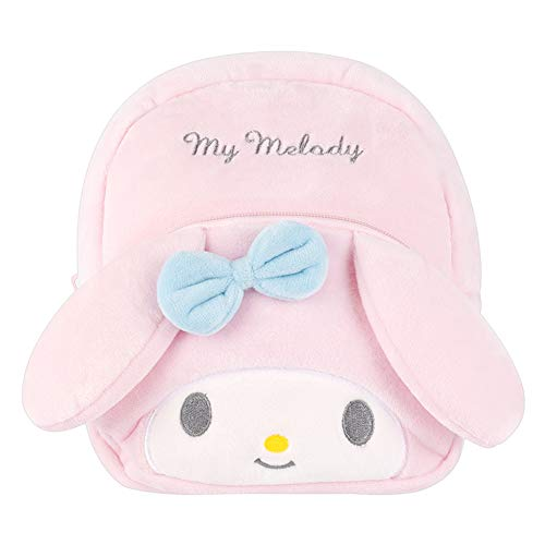 YOURNELO Kid's Cute Cartoon Hello Kitty Plush Toys Soft Toddler Backpack for Preschool Boys Girls (Melody)
