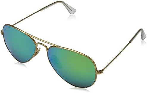 Ray-Ban Aviator Large Metal Light Mirrored Sunglasses