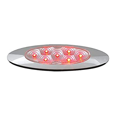 GG Grand General 77848 Red/Clear LED Light (Ultra Thin Spyder Y2K 7, High/Low 3W): Automotive