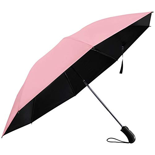 96f542f7bdc2 Leoie Windproof Sunscreen Reverse Folding Umbrella Large Size with  Reinforced 8 Ribs Auto Open Close