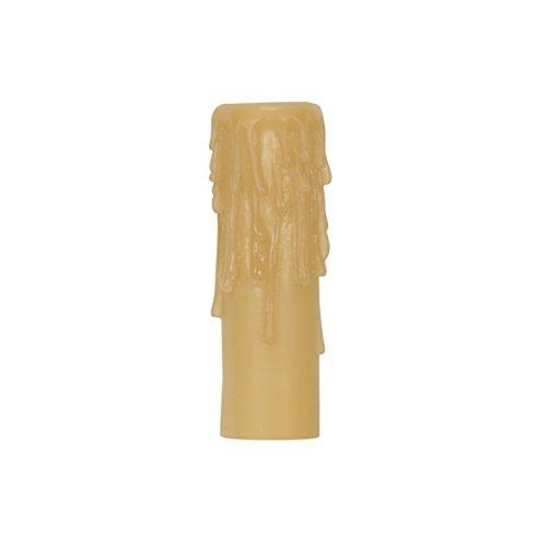 Satco Candelabra Base Resin Half Drip Candle Cover - 801635