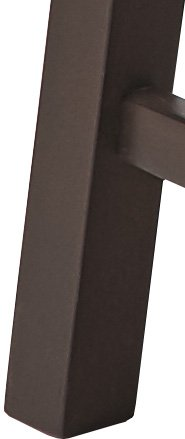 PJ Wood 24-Inch Saddle Seat Counter Stool - Walnut by PJ Wood (Image #4)