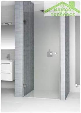 RIHO - Puerta batiente de ducha universal fija S101 de cristal ...