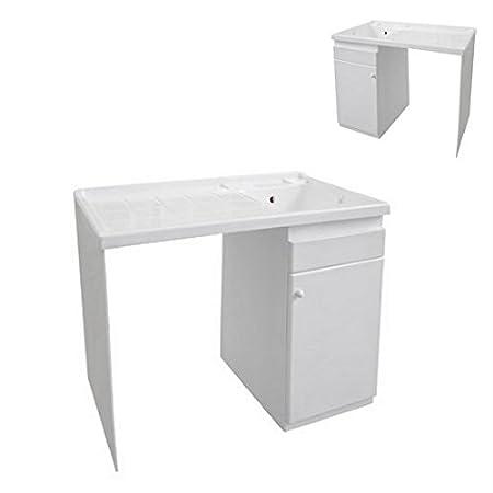 Lavadero con compartimento para lavadora apto para exteriores de ...