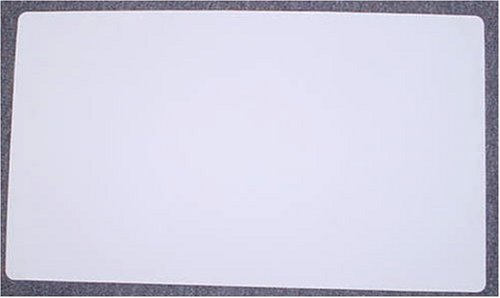 White Yugioh Magic the Gathering Playmat Play Mat Game PAD MAT 1/16 INCH Thick by YuGiOh Trading Cards Wizards