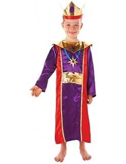 christys disfraz de rey para nio talla nica