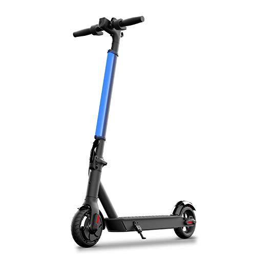Scooter eléctrico Hiboy S2 Lite - Neumáticos sólidos de 6.5 - Hasta 10.6 millas de largo alcance y 13 MPH, portátil, plegable, para desplazamientos, Kick-Start Boost, para adolescentes / adultos