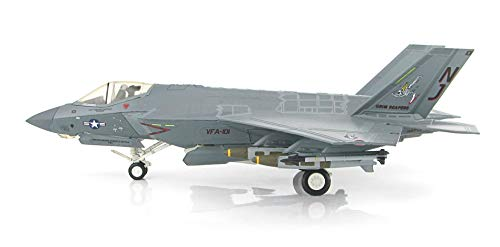 Lockheed Master - Lockheed Martin F-35C Lightning II 101, VFA-101 Grim Reapers, Cag Bird, 2013, 1/72 Scale HA6201