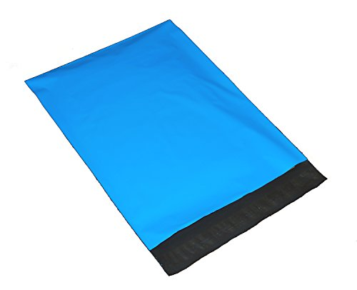 100 7.5x10.5 Blue Poly Mailers Envelopes Shipping Bags