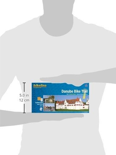 Danube Bike Trail 1: From Donaueschingen to Passau. Scale: 1.50 ...