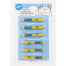 UPC 070896811509, WILTON BASEBALL BAT 6-Piece Candle Set 2811-750