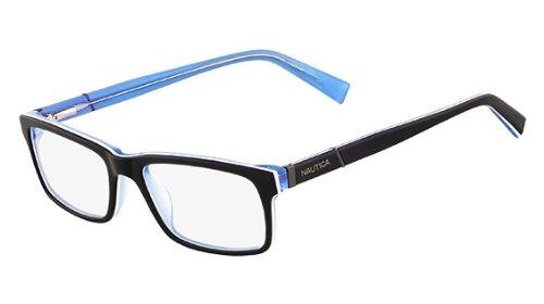 8d27dfbe569 Nautica Eyeglasses N8085 430 Nautical Navy 54 17 140 at Amazon Men s ...