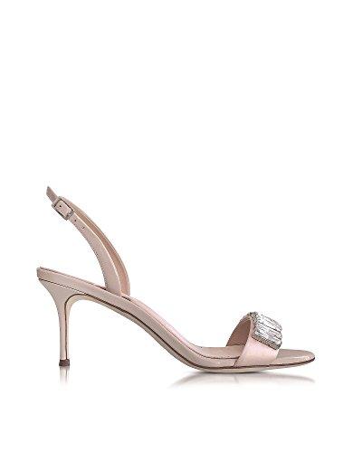 Design Mujer Rosa E70094001 Satén Zanotti Sandalias Giuseppe qAg5w
